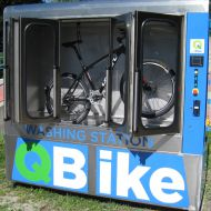 Qbike Washing station